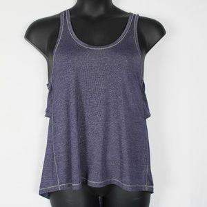 Lululemon Purple Shimmer Twist Back Tank Top #2464
